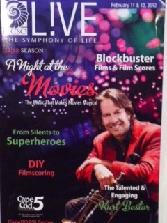 a night at the movies program cover