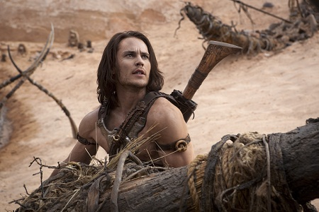 John Carter himself in a scene from John Carter (2012)