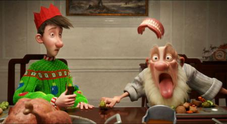 Arthur Christmas and Grandsanta in Arthur Christmas (2011)