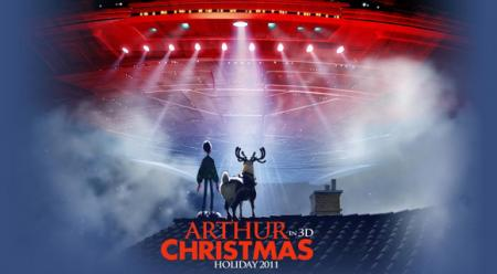 Poster for Arthur Christmas (2011)