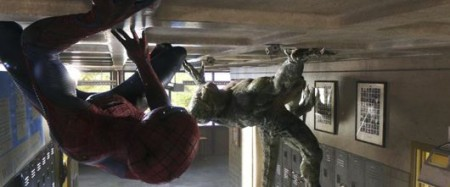 Spider-Man versus The Lizard in The Amazing Spider-Man (2012)