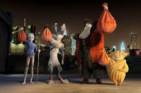 4 out of the 5 Guardians in Rise of the Guardians (2012)