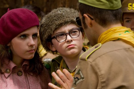 Two young lovers in Moonrise Kingdom (2012)