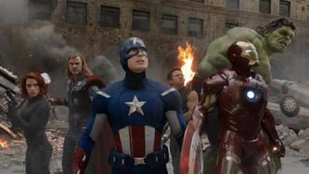 The team assembles and readies for battles in The Avengers (2012)
