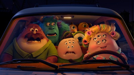The Oozma Kappa team in Monsters University (2013)