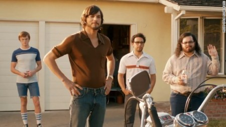 The garage team assembles in Jobs (2013)