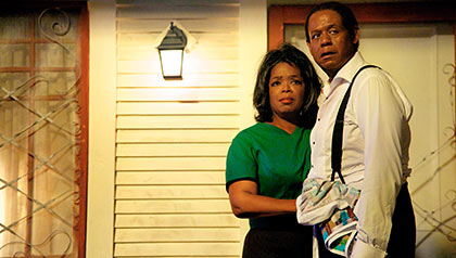 Oprah Winfrey and Forest Whitaker in The Butler (2013)