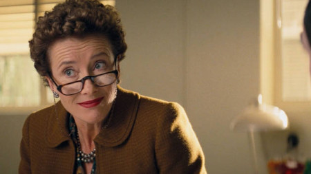 Emma Thompson stars as P.L. Travers in Saving Mr. Banks (2013)