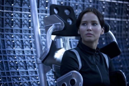 Katniss Everdeen (Jennifer Lawrence) in The Hunger Games: Catching Fire