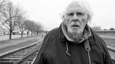 Bruce Dern plays Woody Grant in Nebraska (2013)