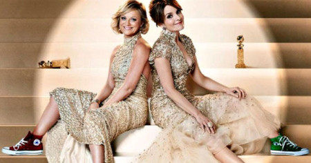 Tina Fey and Amy Poehler will host tonight's Golden Globes