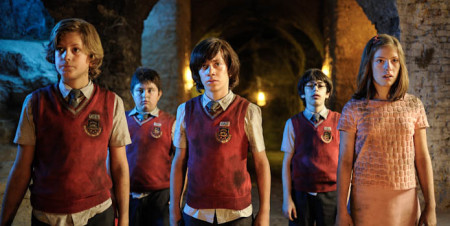 A group of friends discover the mystery of their evil school in Zip & Zap and the Marble Gang