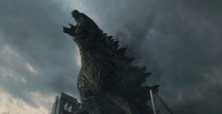 Godzilla isn't happy in this 2014 reboot