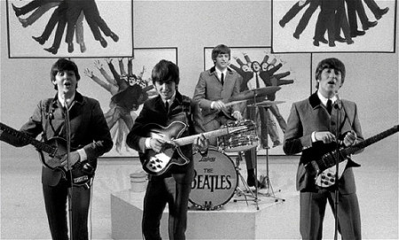 The Beatles perform in A Hard Days Night (1964)