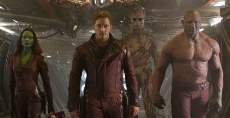 The team unites in Guardians of the Galaxy (2014)