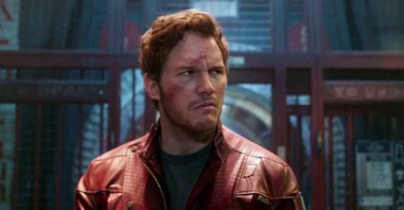 Peter Quill (Chris Pratt) goes from jokey criminal to galaxy savior in Guardians of the Galaxy (2014)