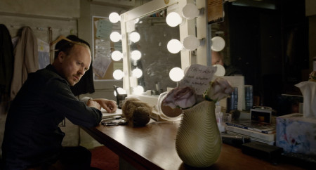 Riggan Thomson (Michael Keaton) contemplates life in BIrdman