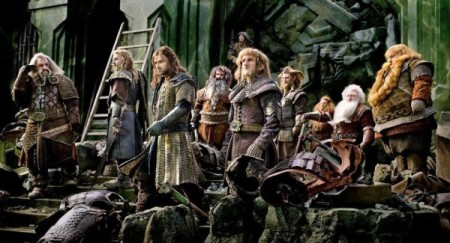 The dwarves in The Hobbit: The Battle of the Five Armies