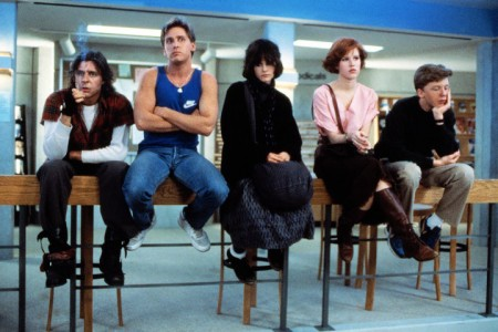 John Hughes' classic teen dramedy The Breakfast Club (1985)