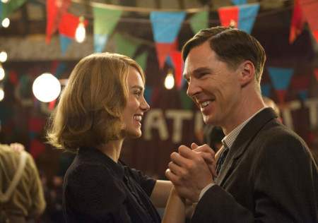 Joan (Keira Knightley) and Alan (Benedict Cumberbatch) hide their secrets in The Imitation Game