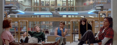 Five teens bare their souls in The Breakfast Club (1985)