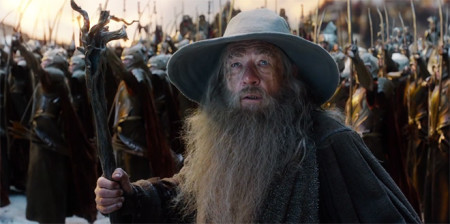 Gandalf (Ian McKellen) in The Hobbit: The Battle of the Five Armies